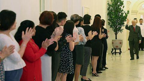 PM Lee: Presiden Tony Tan tabur khidmat cemerlang JAMUAN PERPISAHAN KEPADA PRESIDEN TONY TAN KENG YAM