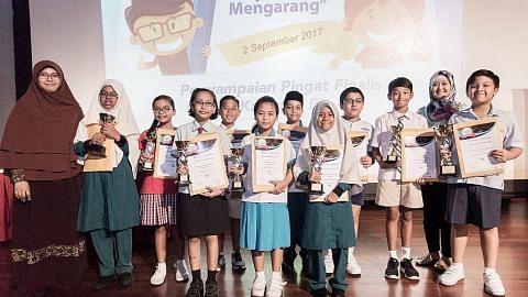 Peraduan tanam keyakinan pelajar tulis dalam bahasa Melayu