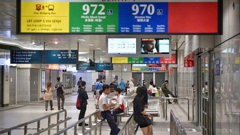 Hab pengangkutan Bukit Panjang dibuka selepas dua tahun tertangguh