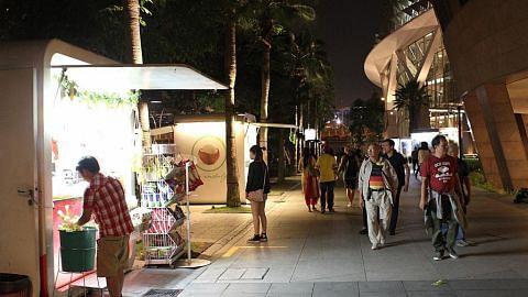 Esplanade terus tarik pengunjung