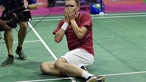 Raja dan ratu badminton dunia yang baru...
