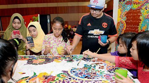 Kegiatan di kejiranan jaya tarik penduduk bukan Melayu BULAN BAHASA