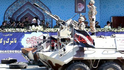 Iran dakwa jaya uji peluru berpandu jarak sederhana