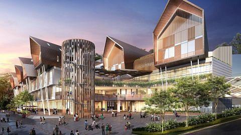 Bangunan Wisma serlahkan landskap kawasan Geylang