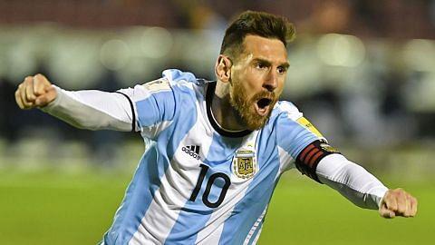 Argentina lolos ke Russia...