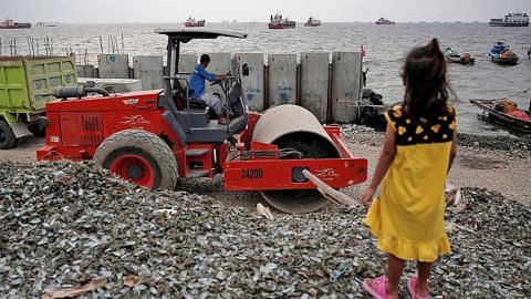 Gabenor Jakarta bantah projek tambak tanah besar-besaran