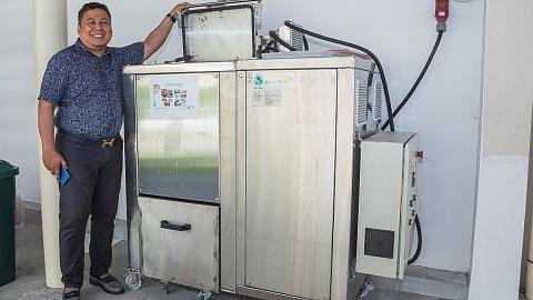 Pasang mesin khas untuk hasilkan baja sendiri
