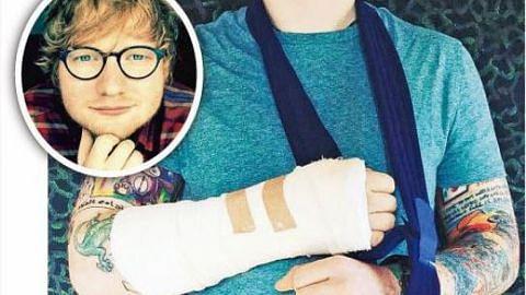 Ed Sheeran batal persembahan lepas terlibat dalam nahas basikal