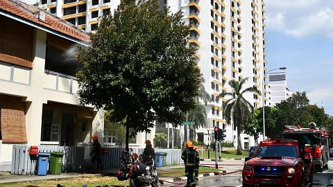 Teres warisan di Towner Road terbakar; tiada kecederaan dilaporkan
