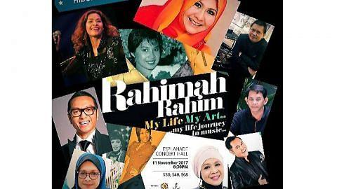 RAHIMAH RAHIM persembah 'Hidupku Seniku'
