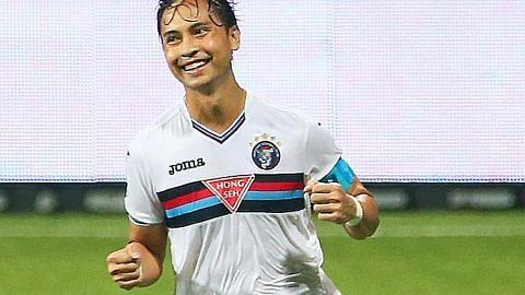 LIGA S GREAT EASTERN-HYUNDAI Shahril nak jadi pemain tempatan dengan gol terbanyak