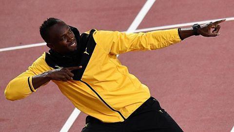 PERSONALITI SUKAN Bolt serius mahu ceburi sukan bola sepak