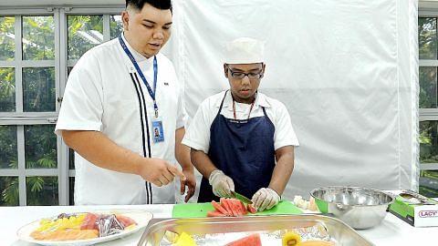 Hargai peluang praktikkan di Istana pengetahuan cucuk tanam, memasak