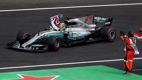 Hamilton juara dunia kali keempat ...indah atau tidak