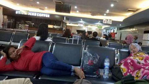 Penerbangan di lapangan terbang Jakarta tertunda akibat gangguan sistem lampu landasan