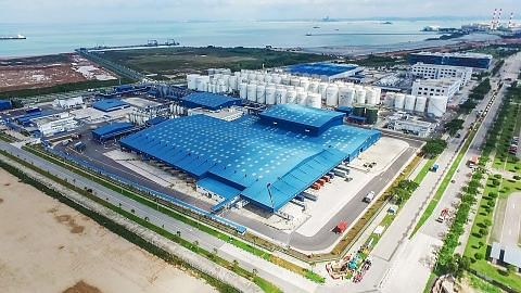 Shell buka loji pelincir antara terbesar di dunia di Tuas
