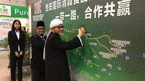 EKONOMI Pergas orak langkah tawar khidmat niaga halal ke China