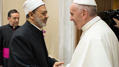 Imam Besar Al-Azhar temui Paus Francis