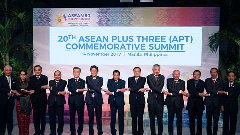 PM Lee: S'pura akan cuba majukan rundingan RCEP SIDANG PUNCAK ASEAN