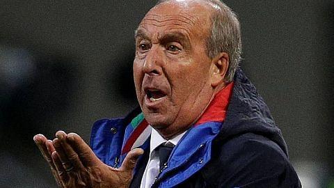 Ventura dipecat kerana gagal bawa Italy ke Piala Dunia