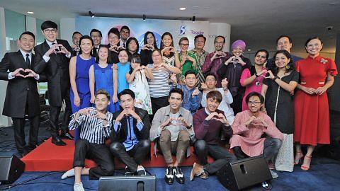 Artis popular barisi President's Star Charity