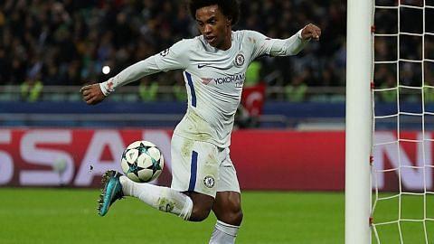 Barca, Chelsea mara tapi langkah Man U tersandung