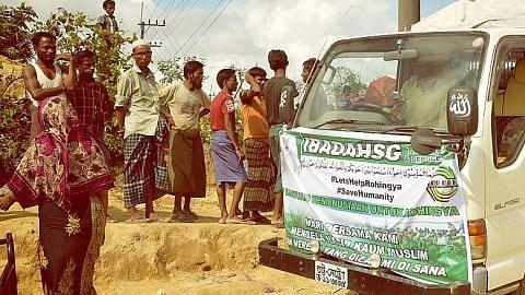 Esei foto rakam misi bantu Rohingya di Bangladesh