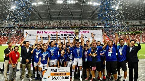 Warriors FC bergelar juara berganda dua musim berturut-turut