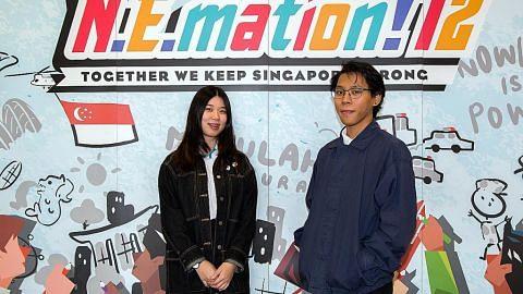 Berbaloi cipta animasi mengenai transformasi Sungai Singapura