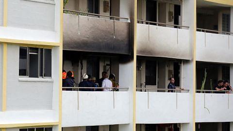 Mayat hangus ditemui di flat terbakar di Aljunied Crescent