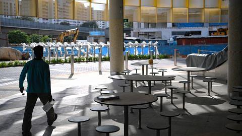 Penjaja Pusat Bandar Woodlands Lama berpindah ke Marsiling Mall