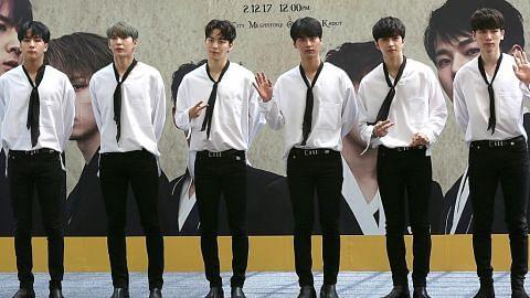 DEMAM K-POP Peminat seronok sambut kumpulan VIXX