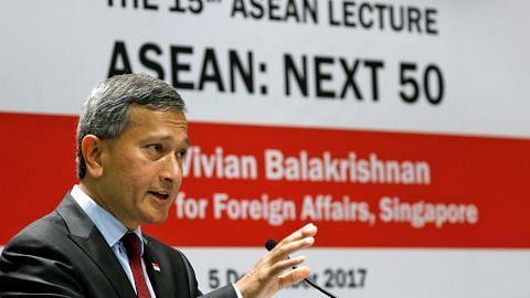 Vivian: Asean harus terus cari kata sepakat berhubung isu di Rakhine