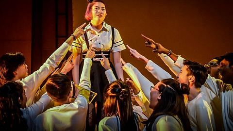 Gejolak jiwa remaja dipapar dalam drama pesta seni Poly Republic