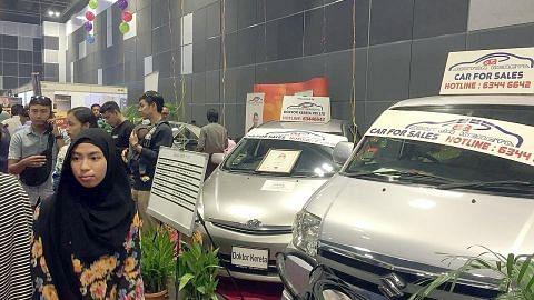 Peluang dapat nasihat tentang kereta di pameran