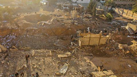Israel serang Gaza sebagai tindak balas serangan roket