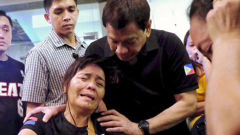 KEBAKARAN DI PUSAT BELI-BELAH DI FILIPINA Siasatan jenayah dilancar bagi kenal pasti punca kebakaran
