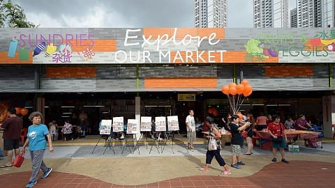 Pusat Makanan dan Pasar Bukit Merah View dibuka semula