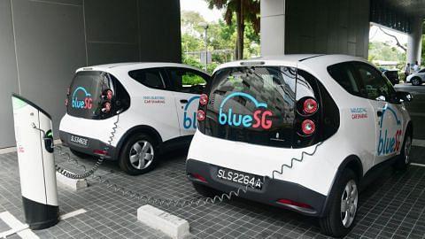 Kereta elektrik BlueSG disewa lebih 20,000 kali dalam tiga bulan pertama beroperasi