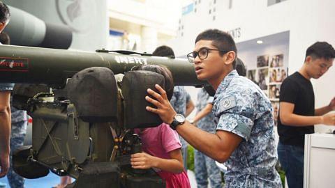 Duta RSAF sedia kongsi maklumat tentang kemampuan tentera udara lindungi negara