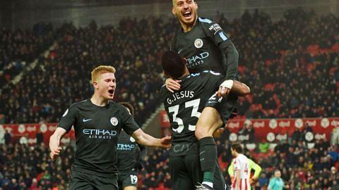Man City di ambang kejuaraan jika atasi Everton