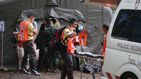 Preparations under way to resume Thai cave rescue; 9 footballers remain trapped