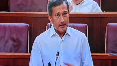 Parliament: S'pore will fully honour the terms of the 1962 Water Agreement, including the price of water stipulated, and expects M'sia also to do so, says Vivian Balakrishnan
