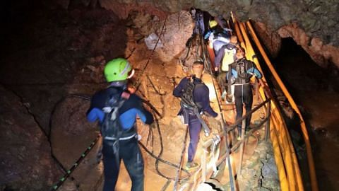 Thai cave rescue: The world holds its breath for rescue of 5 still trapped in flooded cave; 8 saved since Sunday