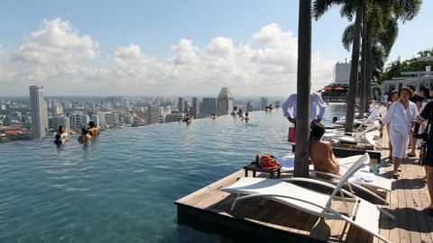 Indian doctor jailed for molesting 4 women at Marina Bay Sands rooftop infinity pool