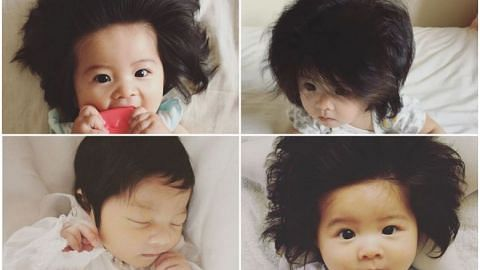 7-month-old Japanese girl with full head of thick hair becomes latest Instagram sensation