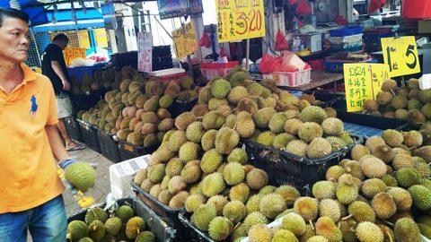 Tempat jual durian