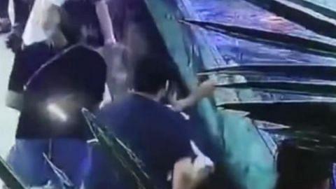 Shark attack in China mall aquarium leaves six-year-old girl with mangled hand