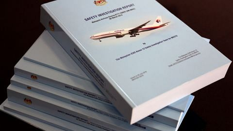 Investigators released a report on missing Malaysia Airlines flight MH370