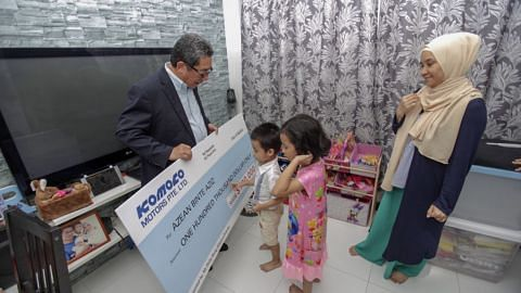 Family of late Nur Alam Shah received $100,000 from Komoco Motors
